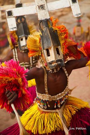 Dogon Kanaga Mask Dancer