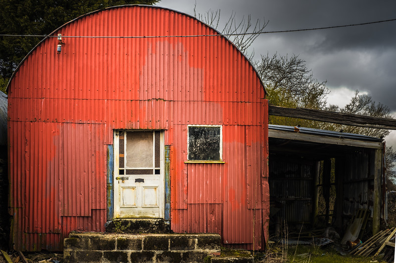Red Shed, White Door 3