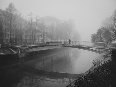 Winter in Ljubljana
