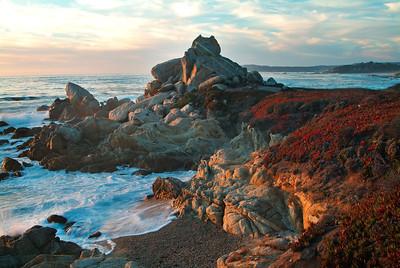 Ribera Beach Sunset