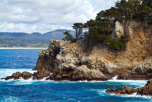 Rocky Outcropping at Point Lobos