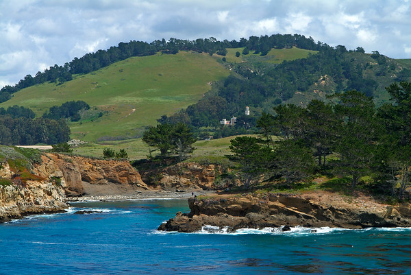 Whaler's Cove at Point Lobos  & Carmelite Monastery
