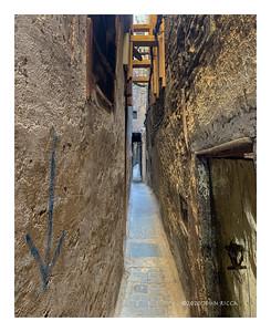 Narrow Street in Fez el Bali, Fez