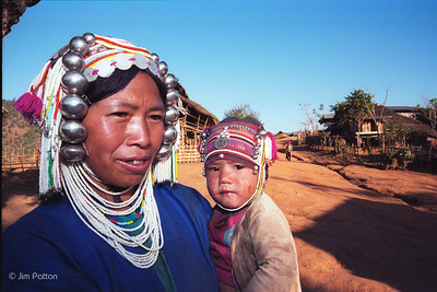 Keng Tung Mother and Child