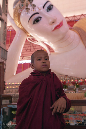 Boy and Big Buddha