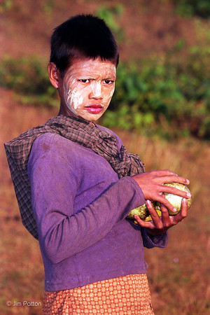 Girl w Melon