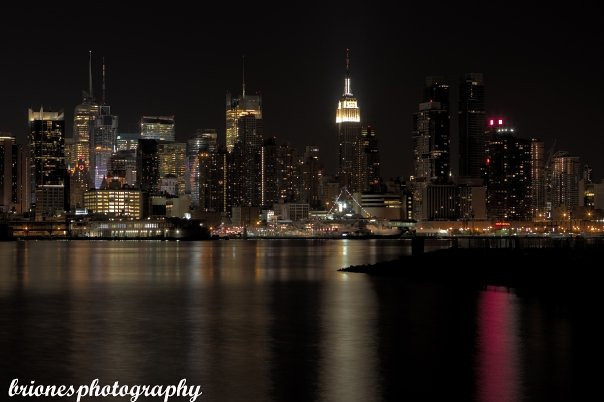 NYC Skyline view from Weehawken