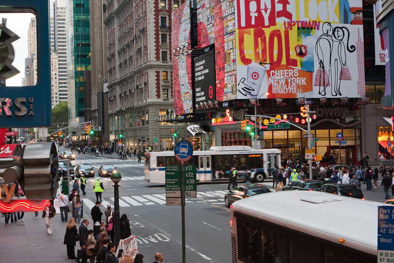NYC 7th Ave & New 42nd St