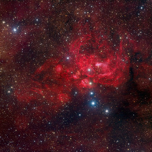 Lobster Nebula NGC 6357