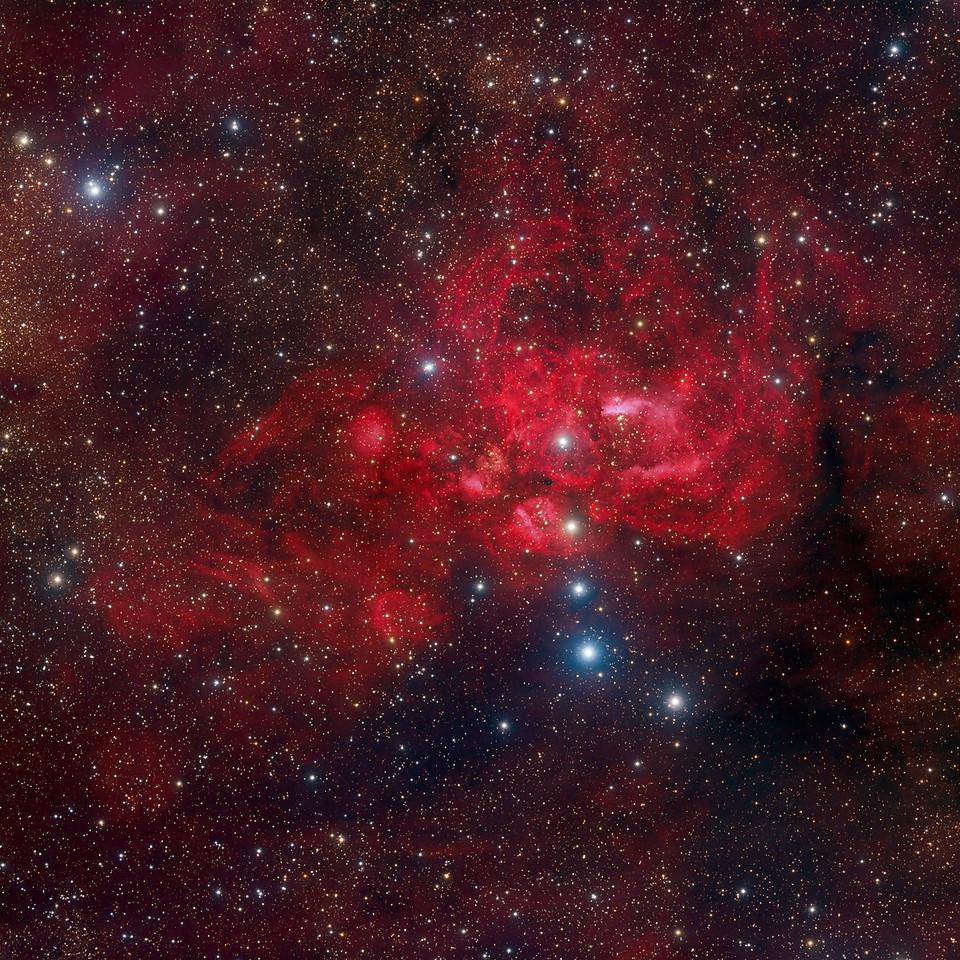 Lobster Nebula NGC 6357