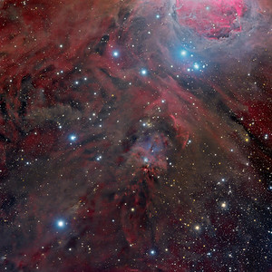 At the feet of Orion (NGC1999) Full Frame