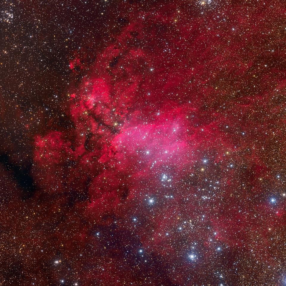 IC 4628: The Prawn Nebula