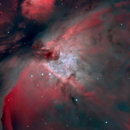 M42 Trapezium from white zone