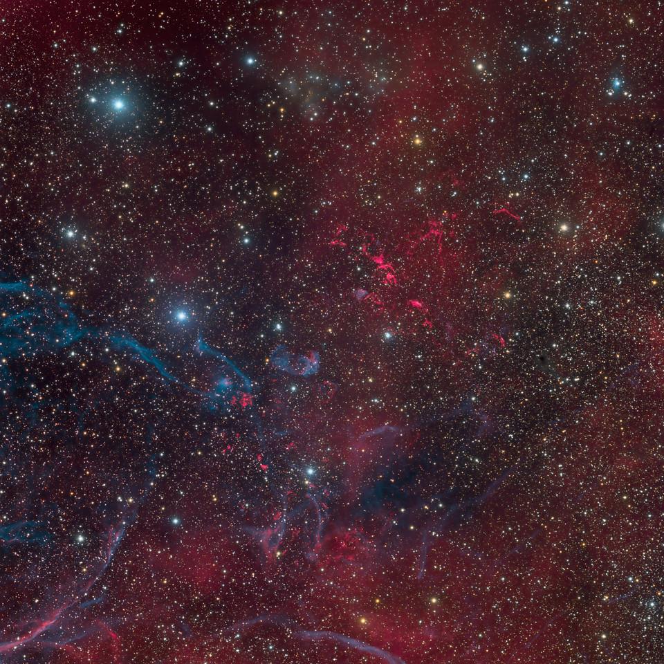 Supernova Remnant Puppis A