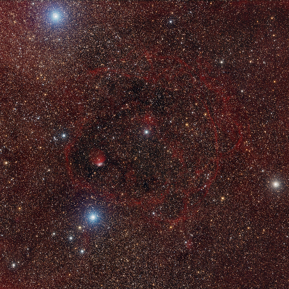 G296.2-2.8, a filamentary shell in the Milky Way