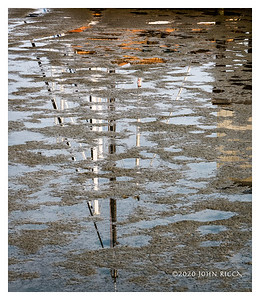 Reflection At Low Tide
