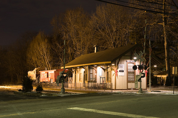 The Maywood Station Museum