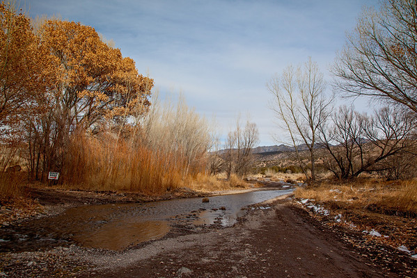 A scene along the four-wheel drive trail called Monticello Box. Taken in Sierra County, New Mexico, USA.