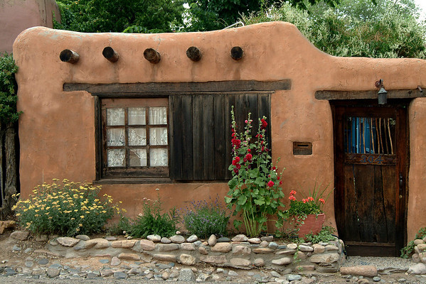 Adobe Casa on Canyon Road