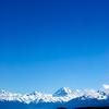 Mt. Aoraki (Mt. Cook) infront of Lake Pukaki, New Zealand