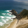 Where the Pacific ocean & Tasman sea meet, Cape Reinga, New Zealand