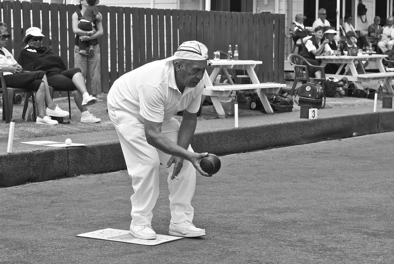 Lawn bowling, Kawakawa, New Zealand