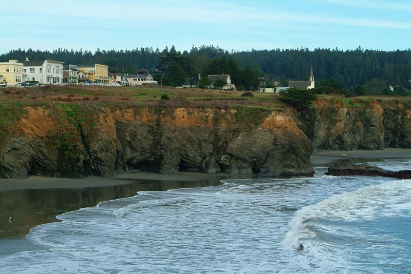 Mendocino Village and Headlands