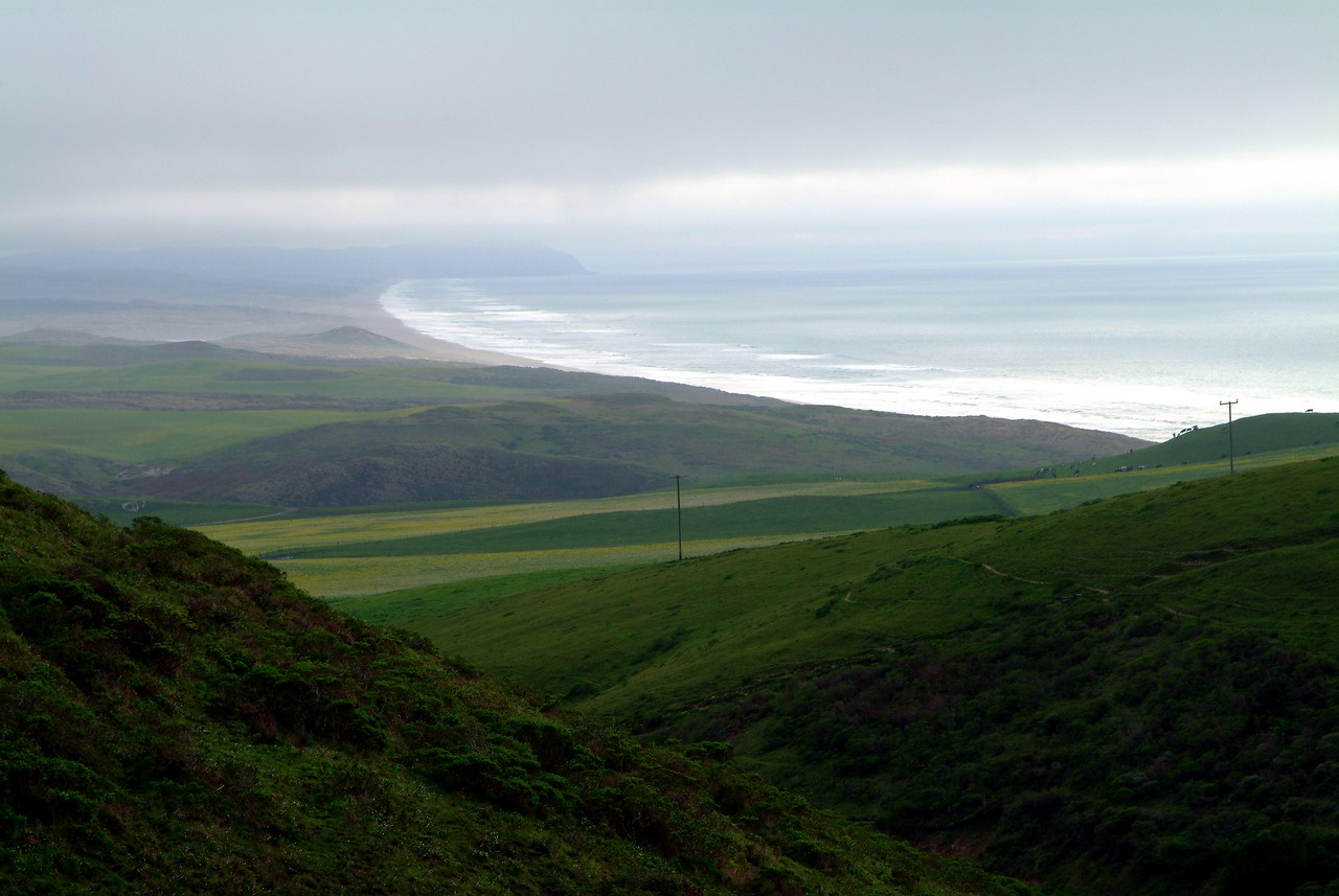 Point Reyes Vista West Marin County, California  Where the San Andreas fault separates California...this is some of the most beautiful landscape in the world!