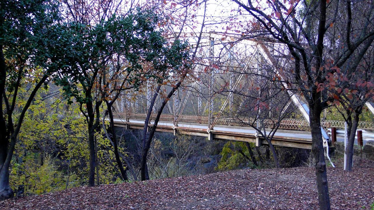 Old Bridge in Dry Creek Valley Healdsburg, California