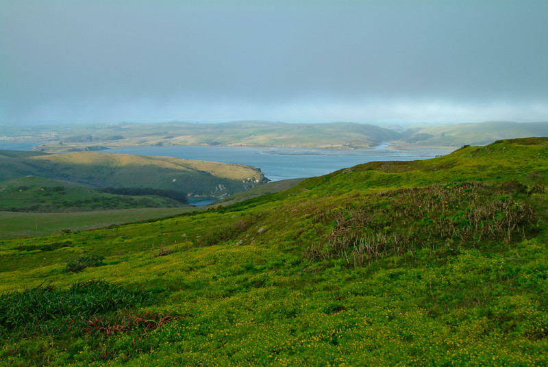 Point Reyes View Tomales Bay West Marin, California