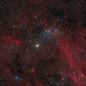 The Wishing Well Cluster (NGC 3532)