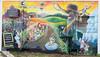 A mural outside Vanilla Jill's ice cream shop. Taken on a walkabout in Eugene, Oregon, USA.