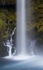 Koosah Falls. Taken in the Willamette National Forest, Oregon, USA.