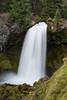Sahalie Falls. Taken in the Willamette National Forest, Oregon, USA.