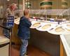 The cheese tasting section; free samples! Taken at the Tillamook Cheese Factory, Tillamook, Oregon, USA.
