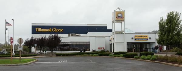 Exterior of the Tillamook Cheese Factory, Tillamook, Oregon, USA.