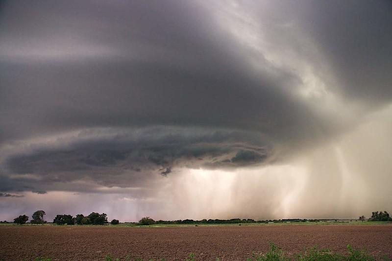 Wall Cloud and Rain