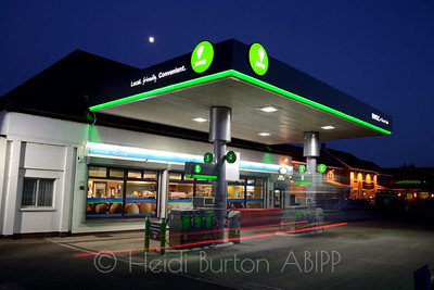 "The Brent Knoll ""Now"" Retail forecourt for BWOC, based in Weston-super-Mare"