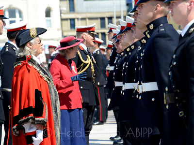 40 Commando Royal Marines parade and Armed Forces Day