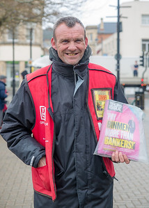 Robin, The Big Issue Vendor, High Street, Weston-super-Mare, North Somerset
