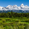 Grand Teton Range - Grand Teton National Park