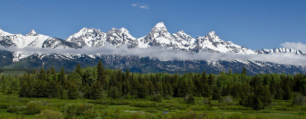Grand Teton Mountain Range - Grand Teton National Park, WY