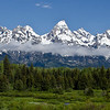 Grand Teton Mountain Range - Grand Teton National Park, WY