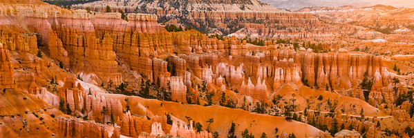 Sunrise from Sunset Point, Bryce Canyon, Bryce Canyon National Park, Utah