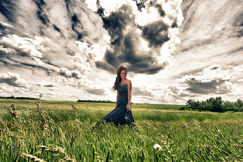 Graduation photo shoot, Shaunavon, Saskatchewan