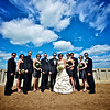 Wedding party photo, Saskatchewan