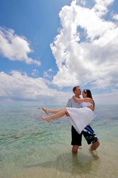 Tropical Wedding Photo, Dominican Republic