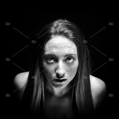 Lydia black & white