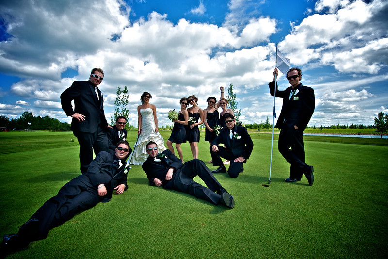 Wedding group Photo, Saskatchewan