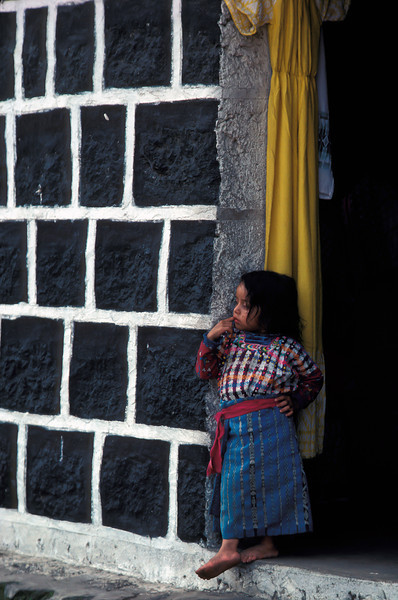 PB 1 - Young Girl, Chichicastenango, Guatemala